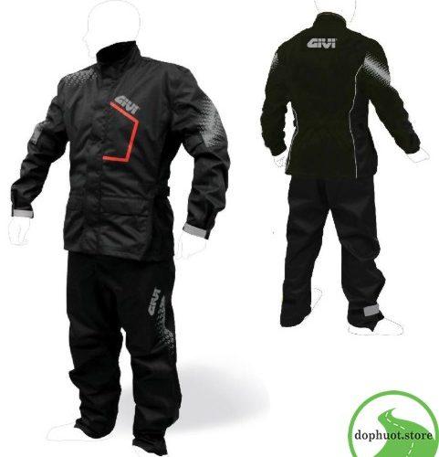 áo mưa bộ Givi PRS04 chống nước
